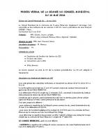 Conseil Municipal du 10-05-2016